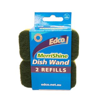 Replaceable scourer pads to suit the DISHWAND - Pk 2 -