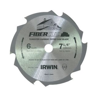 160/165mm  Fibre  4  Tooth Cutting Blade
