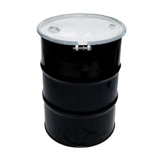 44 Gallon Metal Drum with removable lid - ( 205L )