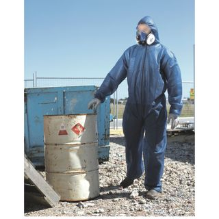 Standard Disposable Coveralls - X Large - WHITE