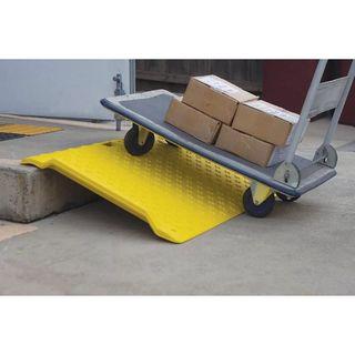 1300mm x 700mm x 85mm Yellow Pedestrian Kerb Ramp
