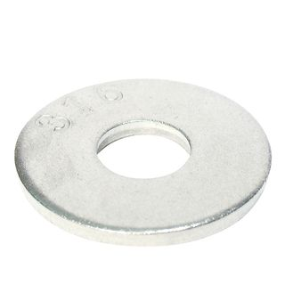 M20 x 60mm OD 316 Grade Stainless Mudguard Washers