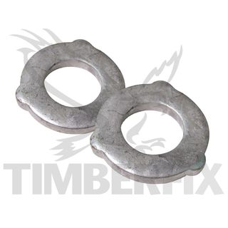 M16 Gal  8.8 Grade Structural Washers