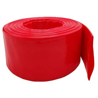 76mm  Red Layflat Hose per meter - Unfitted