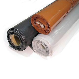 4m x 25m Orange Builders Plastic  - HEAVY DUTY 300UM -
