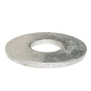 H/Duty Galv Washers 10mm Single - Xtra Large Mudguard-