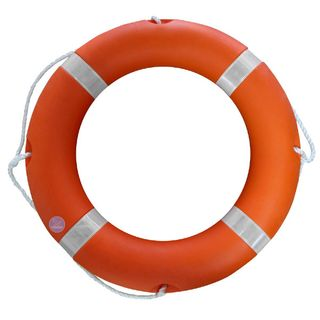 470mm Orange With Reflective Stripes Lifebouy Ring