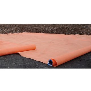 6m x 100m Orange Geotextile Fabric