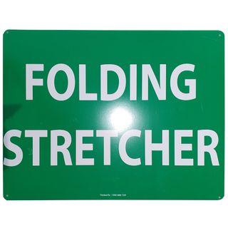 Clearance Signage - Folding Stretcher