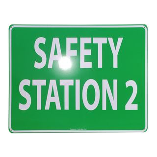 Clearance Signage - Safety Station 2