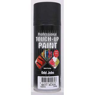 Budget Spray Touch Up Paint 300g - MATT BLACK