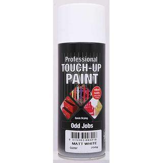 Budget Spray Touch Up Paint 300g - MATT WHITE