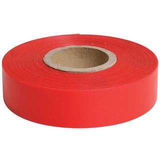 Flagging Tape Red 25mm x 75m - Surveyors Ribbon -