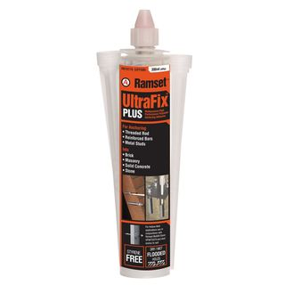 300ml Handy Size Ramset Ultrafix Plus with 2 Nozzles