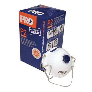 P2 Dust Mask & Valves Pkt 10