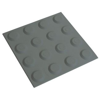300 x 300mm Grey Tactile