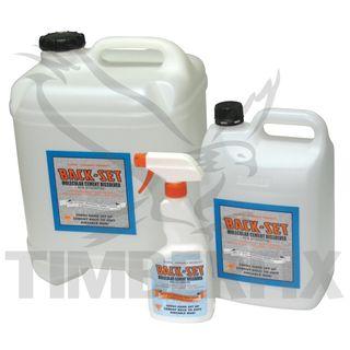 5Ltr Biodegradable Liquid Concrete Dissolver - Backset / Discrete