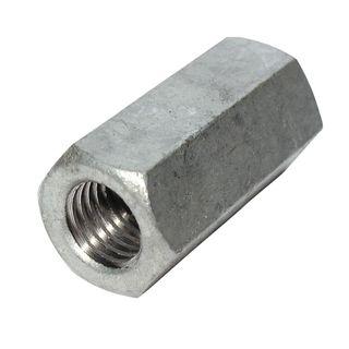 M12 Galvanised Joiner Nut
