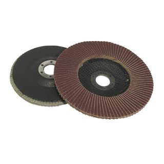 100mm 60-Grit Flap Discs