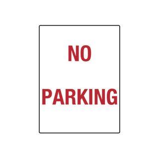 No Parking 300 x 450mm Metal Sign