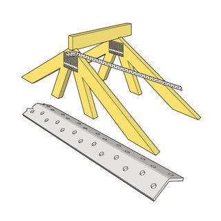 Roof Brace/ Speed Brace 5.0mtr Lengths 18.5 x 18.5 x 1.0mm