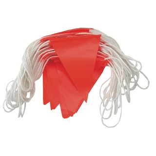 Day Bunting 30 mtr Nylon Rope - ORANGE -