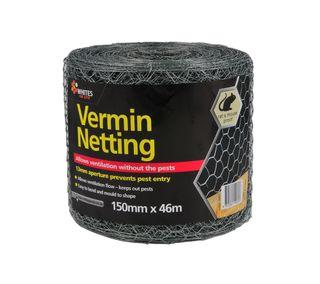 150mm x 46mtr Vermin Netting