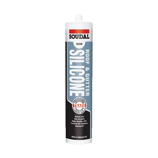 Soudal Silicone Roof and Gutter Translucent 300ml