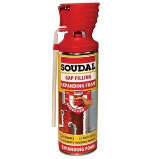Soudal Expanding Foam Gap Filler 500ml