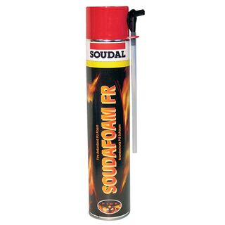 Soudal FIRE RATED Expanding Foam (rated to 6 hours) 750ml