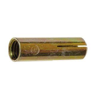 M12 x 50mm Zinc Drop In Anchor