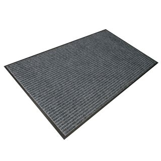 800 x 1200mm  Ribbed Mats Grey