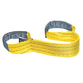 3000kg x 1mtr Flat Sling Yellow