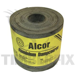 150mm x 10mtr STD Alcor 0.3mm Bitumen Coated Dampcourse