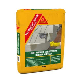 Sika Monotop 352 NFG. High Build Structural Repair Mortar 4 -75mm In One Application. Excellent Workability and Finish For Overhead & Vertical Applications - 20kg Bag