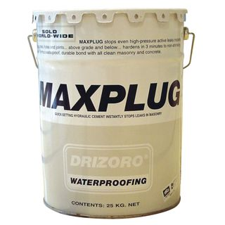 5kg Drum Drizoro Maxplug Quicksetting Hydraulic Cement