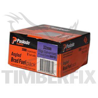 50mm Stainless Paslode Impulse Trimmaster Brads /  Pk 2000 - B20785