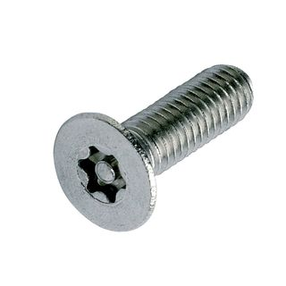 M10 x 30mm Resytork Stainless CSK Sec Single  T-45 Drive