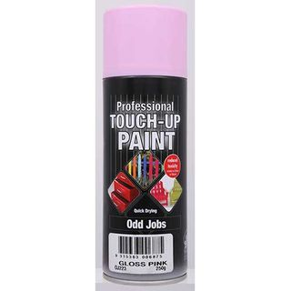 Budget Spray Touch Up Paint 300g - GLOSS PINK