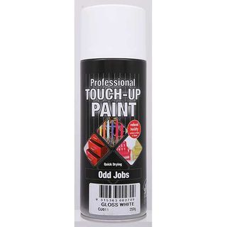 Budget Spray Touch Up Paint 300g - GLOSS WHITE