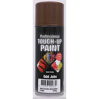 Budget Spray Touch Up Paint 300g - MISSION BROWN