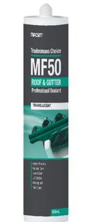 Macsim Silicone Roof and Gutter Translucent 300ml