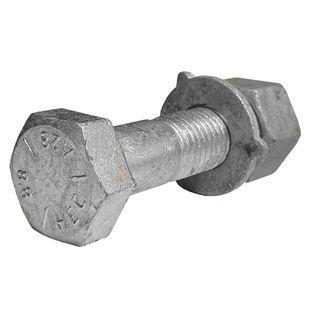 M16 x 120mm Galvanised Structural Assemblies 8.8 Grade - K0 -