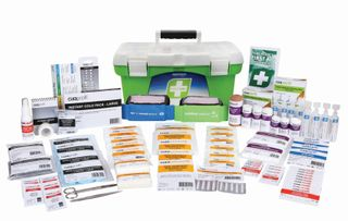 First Aid R2 Constructa Max Kit, Plastic Box - Up to 25 people FARC22