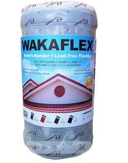 370mm x 5mtr Roll Wakaflex Black Butyl Based Flexible Flashing