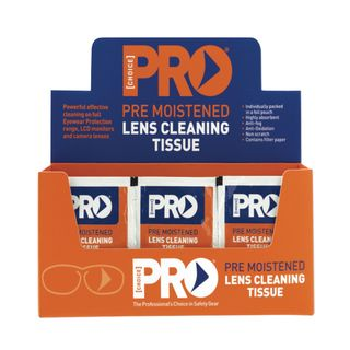 Lens Cleaning Wipes Box 100