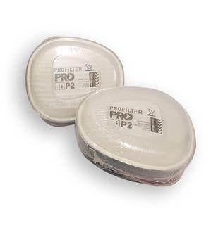 P2 Cartridges for Dust per pair
