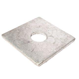 M10 50 x 50 x 3mm Galvanised Square Washer