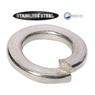 M4  Stainless Spring Washers