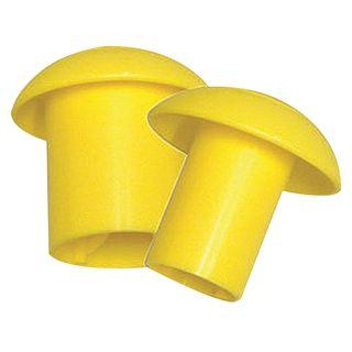 35mm (25-35mm) Heavy Duty Hi-Vis Reo Bar Guards Mushroom Head / Bag 100